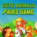 Cute Animals Pairs Game