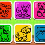Easy Kids Coloring Game