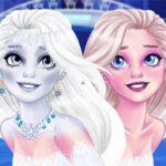 New Makeup Snow Queen Eliza