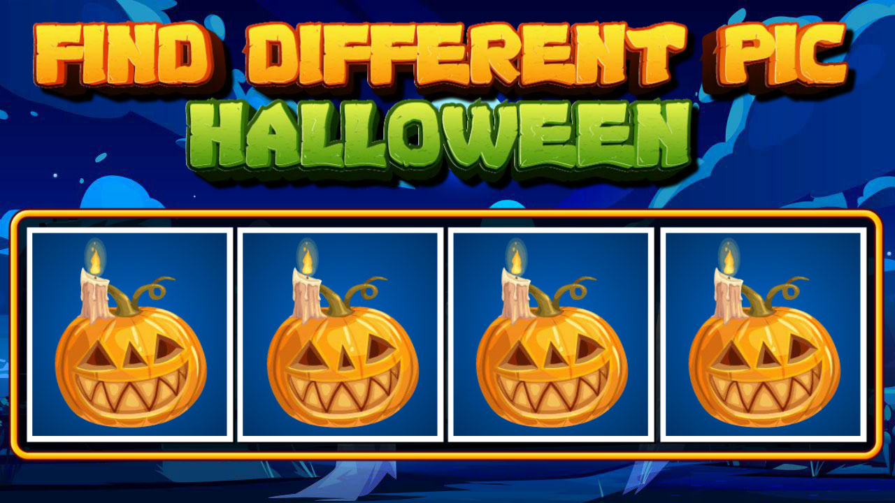 Image Find Different Pic Halloween