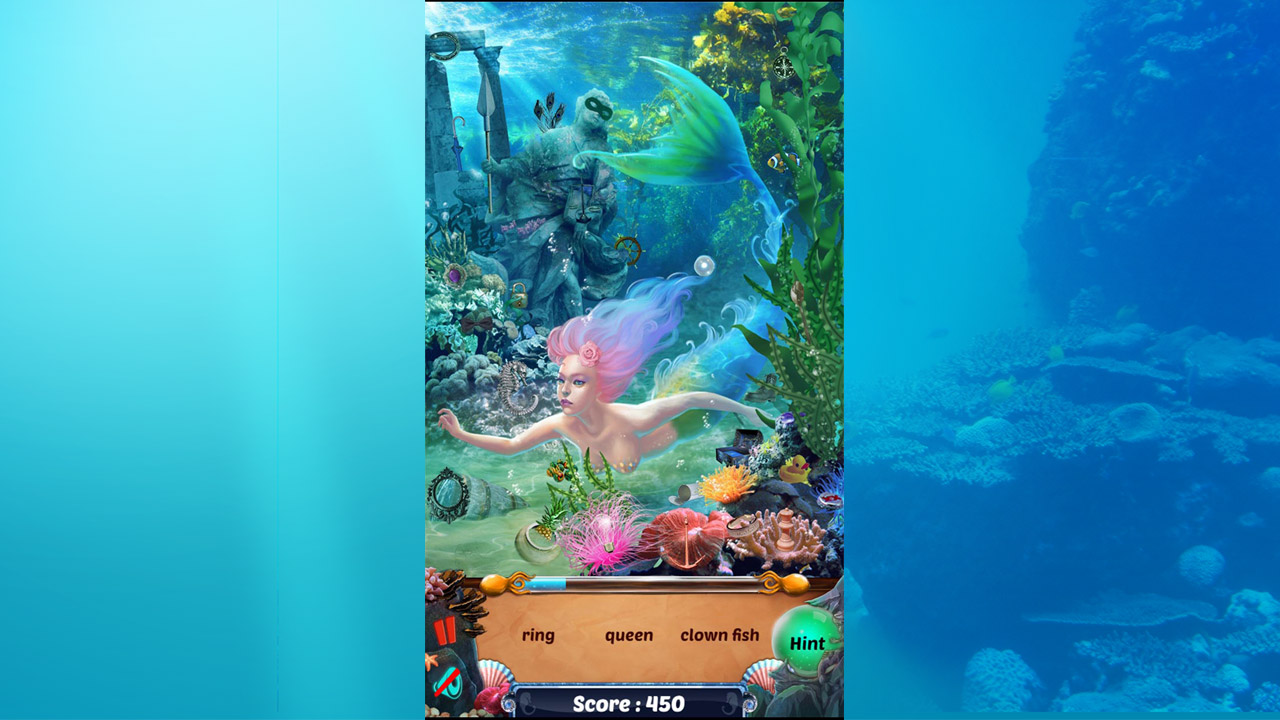 Image Mermaid Wonders Hidden Object