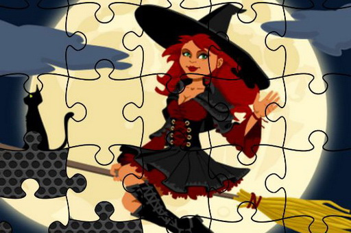 Image Midnight Witches Jigsaw