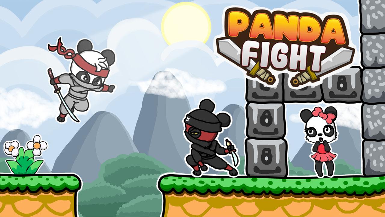 Image Panda Fight
