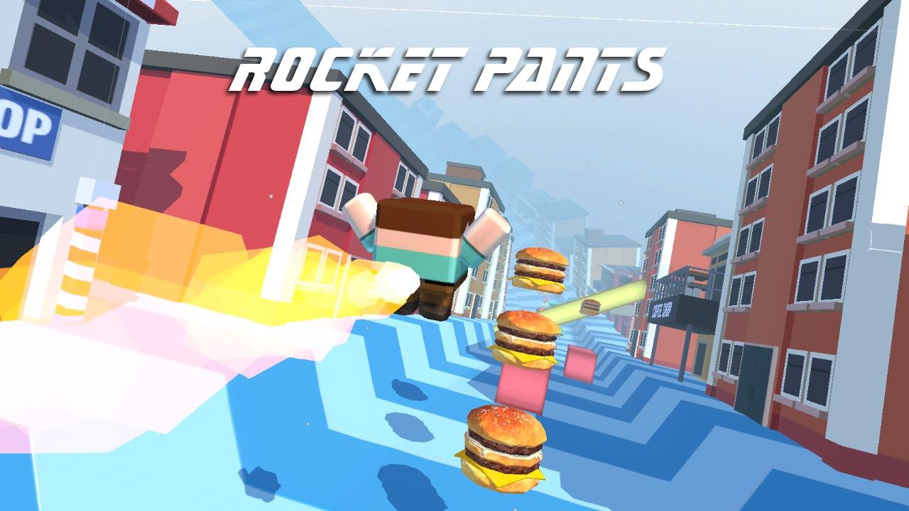 Image Rocket Pants Runner 3D