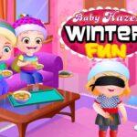 Baby Hazel Winter Fun