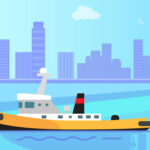 Big Boats Coloring