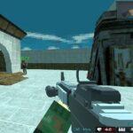 Blocky combat Shooting Arena 3D Pixel