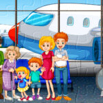 Family Travelling Jigsaw