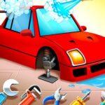 Girls Car Wash Salon Auto Workshop