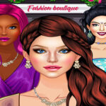 Glam Girl Fashion Shopping – Makeup and Dress-up