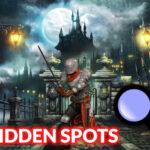 Hidden Spots Under the Moon