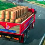 Indian Truck Driver Cargo Duty Delivery