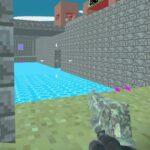 Pixel Blocky Combat Fortress