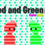 Red and Green 6 Color Rain