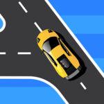Road Turn Car